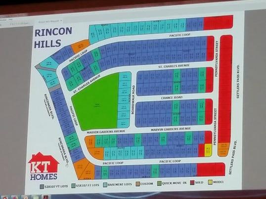 Rincon Hills subdivision
