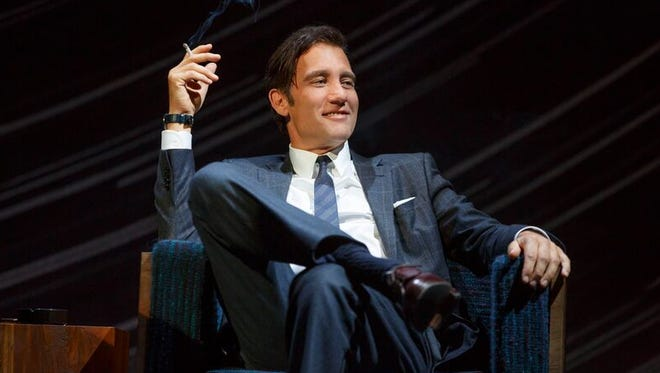 Clive Owen makes his Broadway debut in a new production of Harold Pinter's 'Old Times.'
