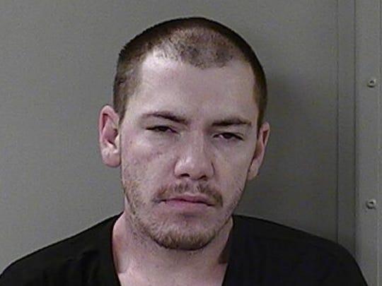 Joseph Baucom, 30, was recaptured Friday after escaping