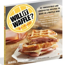 The 'Will it Waffle' cookbook ($14.95) by Daniel Shumski.