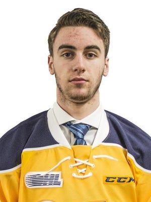Daniel Murphy, Erie Otters goaltender