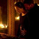 "Marion Cotillard and Michael Fassbender in ""Macbeth."""