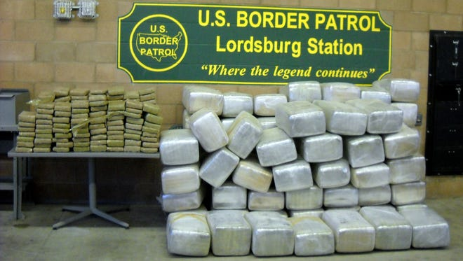 U.S. Border Patrol Agents working the boot heel area of Hidalgo County seized 1,763 pounds of marijuana with a street value of $1.4 million.