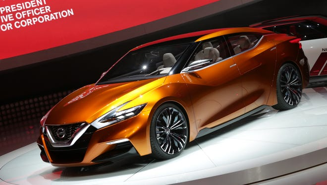 The Nissan Sport Sedan Concept Vehicle unveiled at the Detroit Auto Show is a hint of the styling direction for a new Maxima.