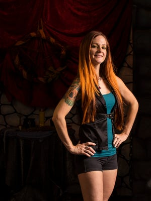 Crissy Barchers, owner of Red Headed Witches, has parlayed a lifelong interest in dressing up in costumes into a unique business.