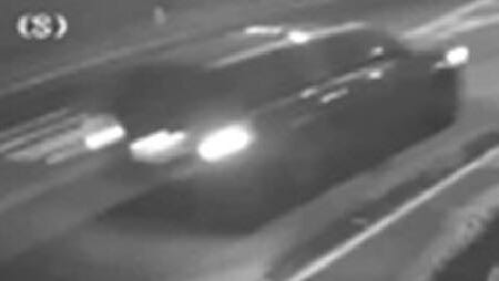 Police are circulating surveillance video of the vehicle sought in connection with a Haddon Township hit-and-run.
