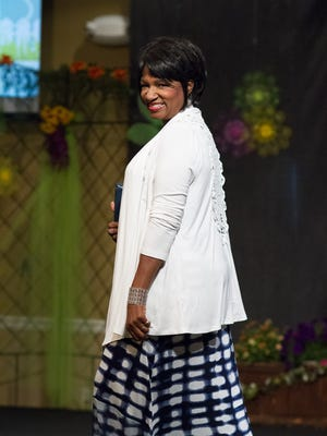 Blossoming Into a Better You Women's Conference fashion show held Thursday at the Carl Grant Events Center at Union University.