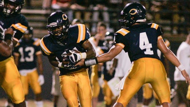 Carencro quarterback Carl Randall and running back Treylon Barnaba have played huge roles in making the Golden Bears' offense so explosive this season.