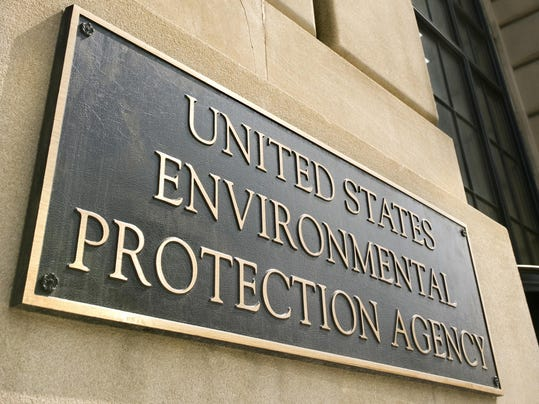 Environmental Protection Agency building sign, Washington, DC