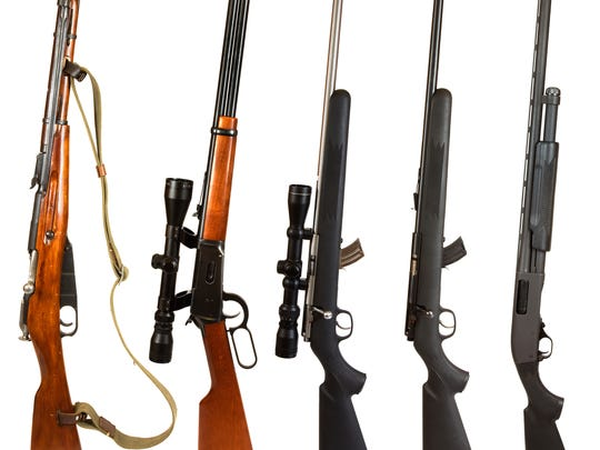 Pennsylvania law already requires us to get background checks when buying handguns from private, unlicensed sellers, but it exempts rifles, shotguns and assault weapons.
