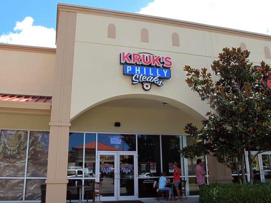 Kruk's Philly Steaks opened in April 2017 at Naples Boulevard and Airport-Pulling Road in North Naples.