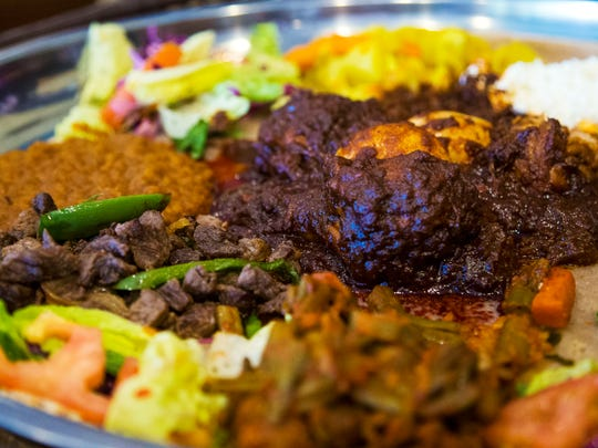 Doro wat from Cafe Lalibela in Tempe, Ariz. May 30,