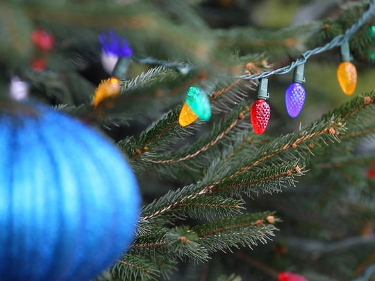 If you're recycling your tree, don't forget to remove ornaments and tinsel.