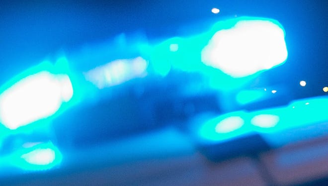 Police lights are shown in this file photo.