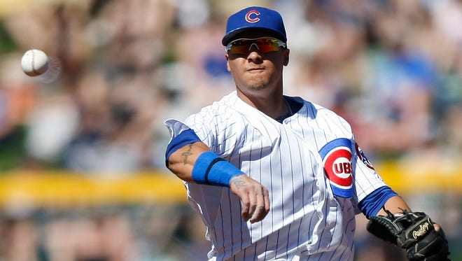 Shortstop Javier Baez started slowly at Class AAA Iowa this season, but has been on a tear at the plate lately.