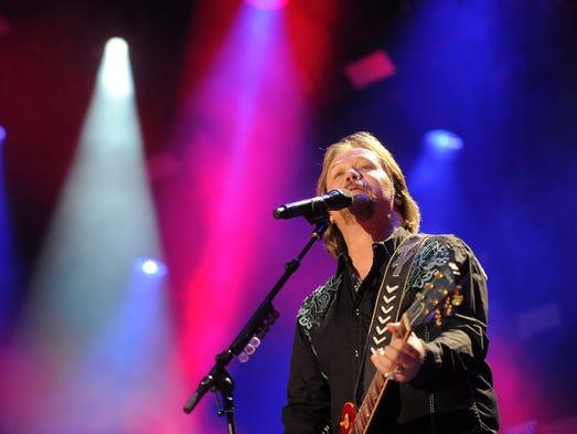 Travis Tritt performs at CMA Fest at LP Field Friday June 6, 2014, in Nashville, TN.