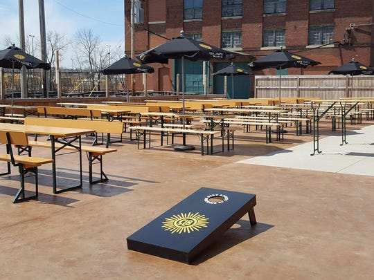 City Lights made several improvements to the beer garden