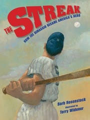 """Cover of the book """"THE STREAK: How Joe DiMaggio Became"""