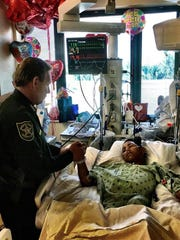 In this photo posted on the twitter account @browardsheriff