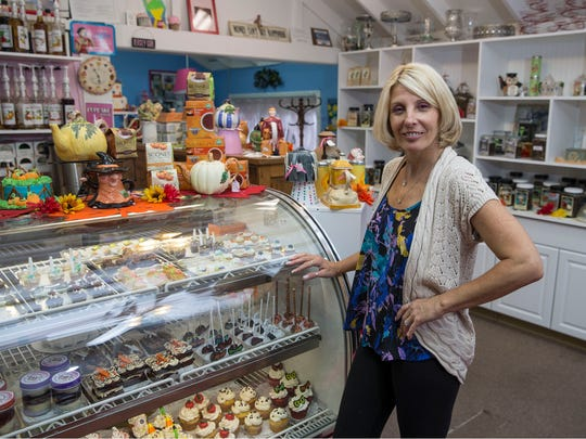 Annmarie Cooney owns A Sweet Memory Cake Shoppe & Tea Room in Lacey.