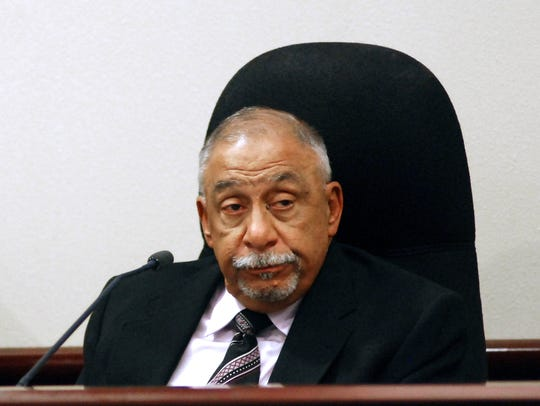 Former New Mexico state Sen. Phil Griego testifies