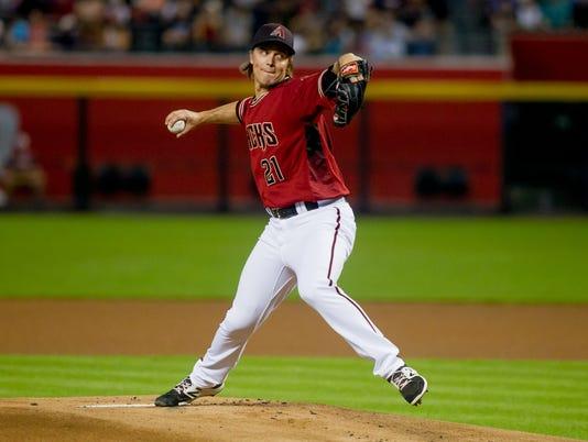 MLB: Arizona Diamondbacks v. Colorado Rockies