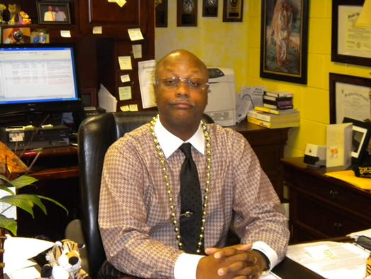 Whitehaven High School principal Vincent Hunter.