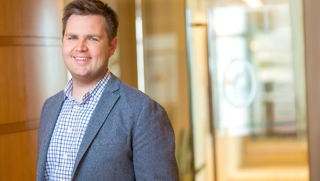 "JD Vance, author of ""Hillbilly Elegy,"" decided to move back to Columbus, Ohio, from Silicon Valley., where he was a venture capitalist."