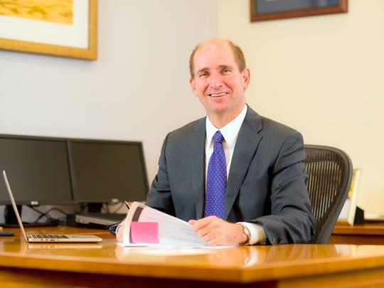 Western New Mexico University president Joseph Shepard.