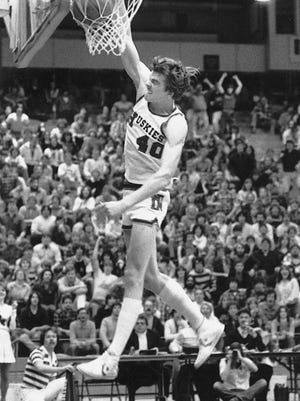 Allen Rayhorn, who led Dakota to the 1978 state tournament, also led NIU to its first NCAA tournament appearance as a senior in college. {PHOTO PROVIDED BY NIU]