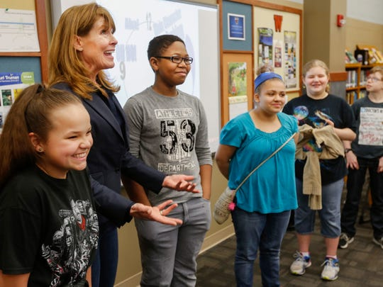 Children's author Kate Klise gets help for 6th grade