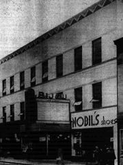 A 1940 issue of the Enquirer and News shows the former Bijou Theatre, 45 W. Michigan Ave., where an underground parking garage is now located.
