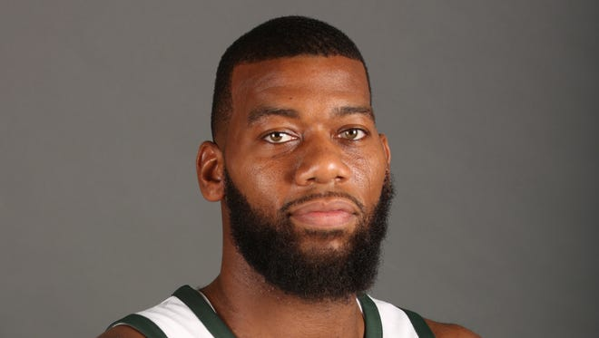 Center Greg Monroe was traded from Milwaukee to Phoenix in the Eric Bledsoe deal