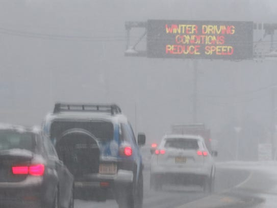 A NJ Department of Transportation sign on Route 23