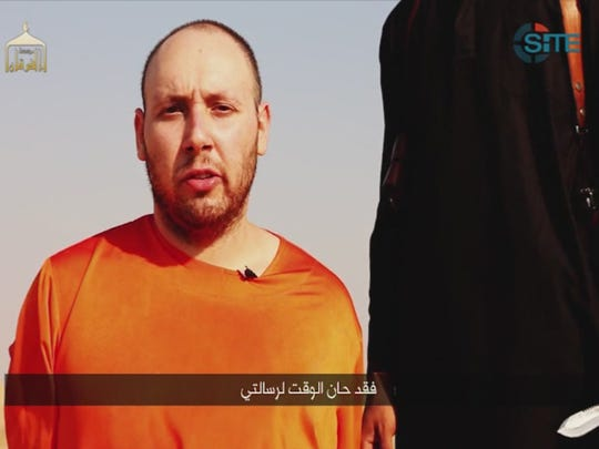 A video released by Islamic State militants  shows