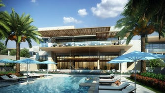 An artist's rendering of the pool at the new Ritz-Carlton Resort in Paradise Valley.