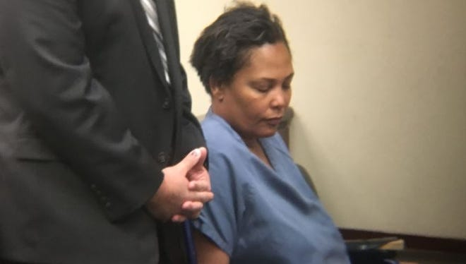 Sherra Wright, the ex-wife of NBA star Lorenzen Wright, appears in a California court  Monday for an extradition hearing .