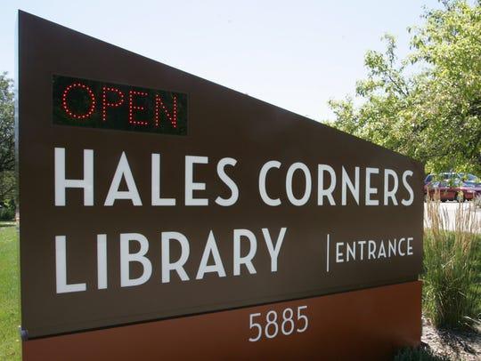 Hales Corners Public Library, 5885 S. 116 Street, Hales