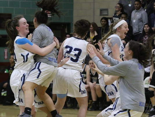 Immaculate Heart Academy vs Paramus Catholic -- North Non Public A State Sectional Girls Basketball Championship --