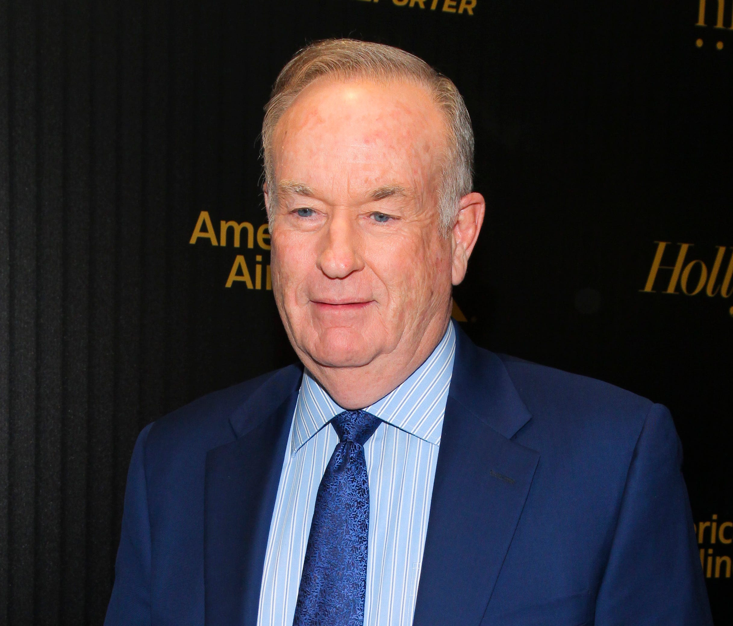 In this April 6, 2016, file photo, Bill O'Reilly attends The Hollywood Reporter's