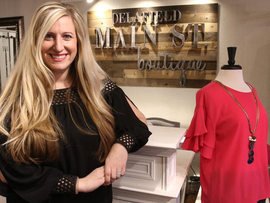 Sarah Johnson's dream has come true, as she has opened her own boutique Delafield Main Street Boutique, at  605 Main St., Delafield.