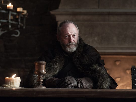 Davos Seaworth (Liam Cunningham) has been with Jon