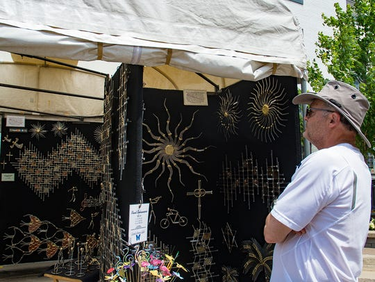 Art enthusiasts were treated to a wide variety of art