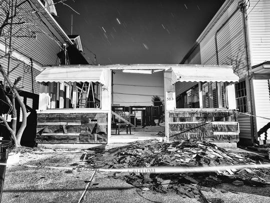 Hurricane Sandy in the Dark