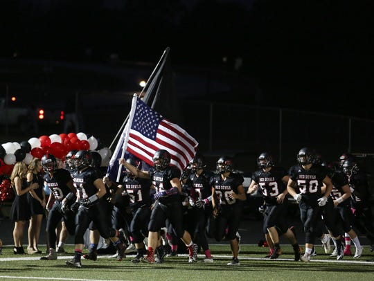 Liberty hosted Crescent High School Friday  October
