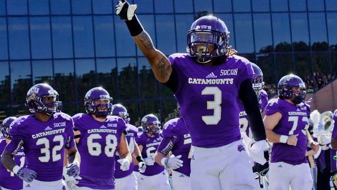 Fred Payne returned an interception for a touchdown for Western Carolina.