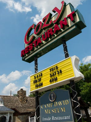 The Cozy Restaurant, the oldest restaurant in Maryland continuously owned by the same family, now closed after serving customers in Thurmont, near Camp David, since 1929.