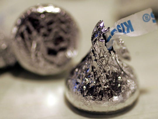 Hershey's says its milk chocolate Hershey's Kisses are now being made with flavor from real vanilla instead of an artificial flavor. The change is the first part of The Hershey Co.'s previously announced plans to use simpler ingredients.