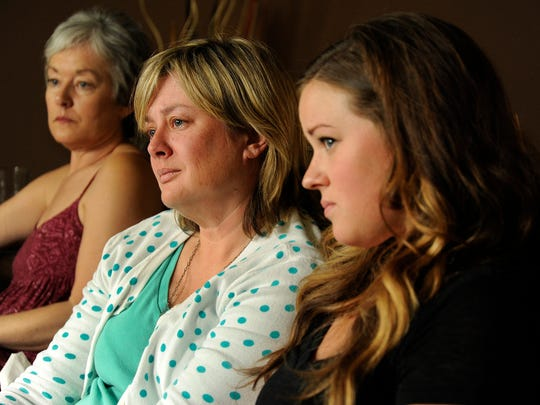 Molly Caporale, Marie DeKeyzer, and Leah DeKeyzer talk about the disappearance of family member, Theresa DeKeyzer, age 22.