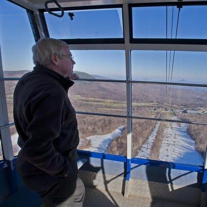 Jay Peak Resort President Bill Stenger looks out over